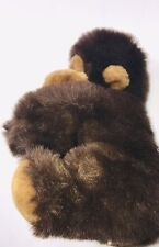 "Gorilla Monkey Ape Plush Holding Baby 13"""
