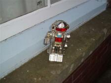 DAMAGED PLASTIC ROBOT 7 INCHES TALL NO COVER WHEEL MISSING NOT TESTED SPARES