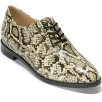 Cole Haan Modern Classic Oxford - Python Printed Leather - Women's Size 10