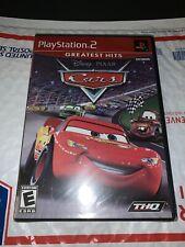 PS2 Disney Pixar Cars Greatest Hits Lightning McQueen (SEALED 2006) FASHT SHIP!