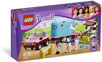 LEGO® Friends 3186 Geländewagen mit Pferdeanhänger NEU_ Emma's Horse Trailer NEW