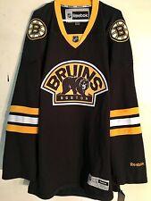 Reebok Premier NHL Jersey Boston Bruins Team Black Alt sz 3X