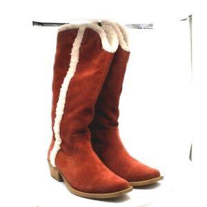 Dingo Women's Jango Fur Lined Calf Western Boot