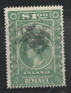 Newfoundland Revenue Stamp #NFR6 Used