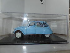 Leo Models FW02 1/24 Scale Citroen 2CV 2CV4 1976 Light Blue