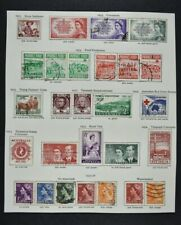 AUSTRALIA, a collection on 9 album pages, mainly used condition (lot B)