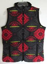 Ralph Lauren Womens Black Multi Quilted Vest (XS) NWT