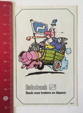 Aufkleber/Sticker: Rabobank - Bank Voor Toeters En Blazers (100616193)