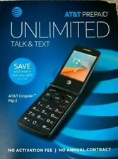 Unlocked Alcatel Cingular Flip 2 4044O AT&T T-Mobile GSM 4G LTE Wi-Fi 4GB Phone