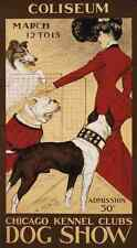 A4 Photo Morris George Ford 1873 1960 Chicago Kennel Clubs dog show 1902 Print P