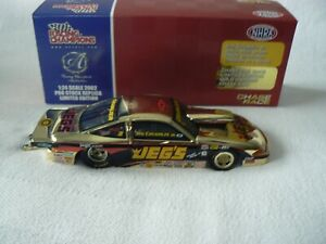JEG COUGHLIN JR. 2002 1/24 JEGS MAIL ORDER CHEVY PRO STOCK (GOLD CHROME)