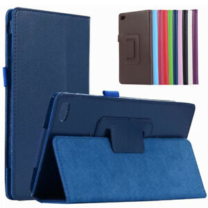 For Lenovo Tab 7 Essential(TB-7304F/I/X) Smart PU Leather Shell Cover Stand Case