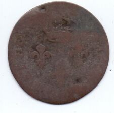 1 COIN FRANCE 1789 FRENCH PROTECTORATE FRENCH GUIANA, COLONY OF CAYENNE