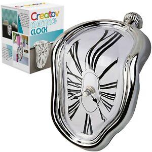 Table Melting Clock, Decorative & Funny, Salvador Dali Inspired