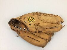 "Vintage Wilson The A2000 XLC Dual Hinge RHT Baseball Glove Made In USA Rare 11"""