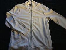 Men's A/X Armani Exchange Full-Zip Light Weight Track Jacket White XL