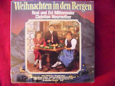 Weihnachten in den Bergen - Rosi und Evi Mittermaier, C. Neureuther LP OVP   NEU