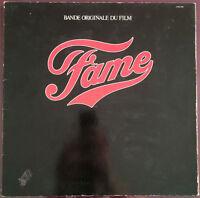* B.O. DE FILM LP Fame - FRANCE