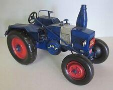Traktor Lanz Bulldog 1950,Nostalgie Blechmodell,Trecker,Tractor Metall 27 cm,(K)