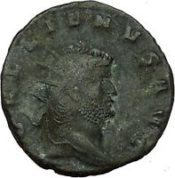 Gallienus son of Valerian I Rare Ancient Roman Coin Harmonia  Cult  i35264