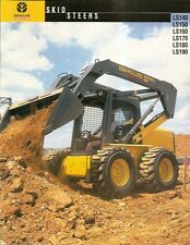 Equipment Brochure - New Holland - LS 140 et al Skid Steer Loader - 2000 (E1340)