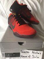 Nike Kobe XI 11 Elite Low 'Achilles Heal', Size 11.5, DS