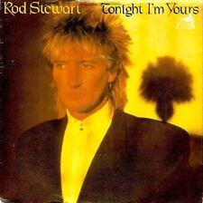"ROD STEWART Tonight I'm Yours 7"" Single Vinyl Record 45rpm Riva 1981"