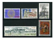 FRANCE 1993 - 5 timbres oblitérés - N° Y&T 2812 2817 2825 2830 2833