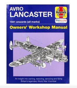 Haynes AVRO LANCASTER Owners Workshop Manual HARDBACK- Fast Free UK Shipping