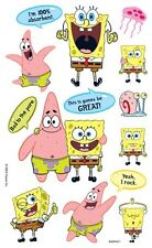 SandyLion  Sponge Bob Square Pants Scrapbook Rub-ons/Transfers