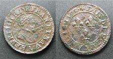 Henri IIII, Double tournois 1598 A, TB