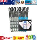 4 x Golf Pride Mid Size Blue MCC Plus4 Grips - Free Grip Kit