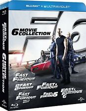 Fast and the Furious 1-6 (Blu Ray)
