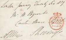 More details for gb : captain alexander ellice, royal navy **signed free front: harwich mp (1839)