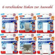 tesa Powerstrips® Waterproof - 6 verschiedene Haken für Naßräume - Selbstklebend