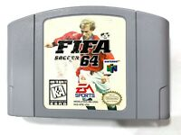 FIFA Soccer 64 NINTENDO N64 Game Tested + Working & Authentic!