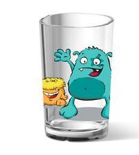 EMSA 6er Set KIDS Kinderglas Kunststoff Kinderbecher Trinkbecher Monster 0,2 L