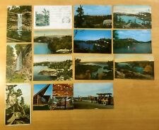 Lot of 14 Antique & Vintage Postcards ALL LAKE MINNEWASKA, NY New York 1905-1954