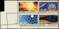 2009, RARE Major Foldover ERROR Plate Block of Four 20¢ Stamps MNH - Stuart Katz