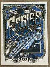 Eagles 2018 North American Tour Poster (Numbered Edition)