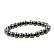 Bracelet Beads Hematite 8 MM