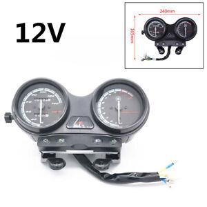 12V Motorcycle Odometer Speedometer Tachometer Oil Gauge Meter For Yamaha YBR125