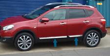 Nissan Qashqai +2 JJ10 Chrome Door Strip Covers