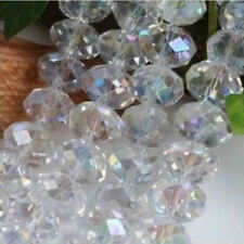18-1 Crystal Loose Beads 6MM Jewelry Beads DIY AB White Free Shipping