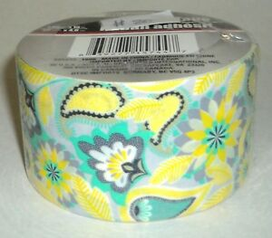 """TOOL BENCH Duct Tape 1.89"""" x 15 ft (48mm x 4.6m) YELLOW Print #20 Sealed"""
