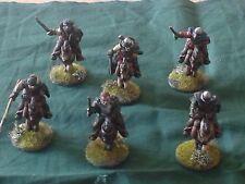 Border Reivers -The Broken Men -6 Individual figs plus horses - (unpainted)