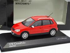 Minichamps 1/43 - VW Cross Polo Rojo