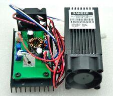 Focusable 445nm 450nm 2w 2000mw Blue Laser Dot Module 12V w/ Driver TTL & Fan