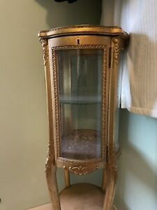 antique french Gilt Cabinet Louis XV