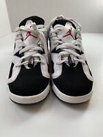 OG NIKE Air Jordan 6 Retro Low GG White-pink SZ 7Y-WOMENS SZ 8.5 [768878-107]